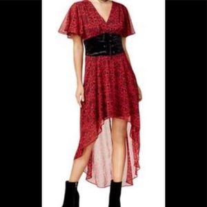 Disney Snow White Corset Red & Black Dress NWT